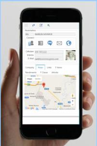 visualizzazione su smartphone